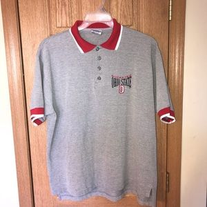 NCAA Ohio State University Polo Shirt L Rare